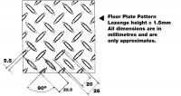 Bảng giá Thép tấm nhám ( CHEQUERED PLATE) SS400
